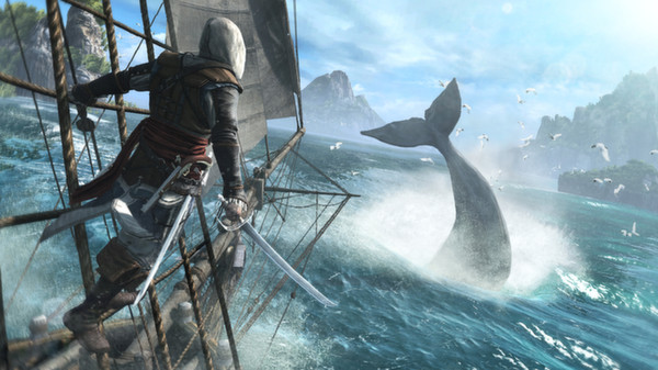 Assassins Creed 4 IV Black Flag Deluxe STEAM ROW / free