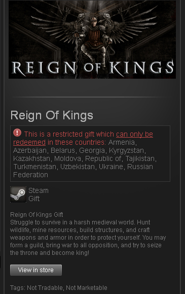 Reign of kings в steam.