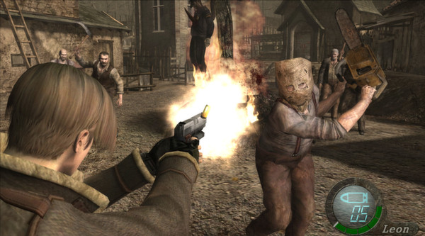 Resident Evil 4 Biohazard (ROW) STEAM Gift Region Free