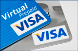 1 $ Visa Virtual Prepaid to pay for internet do04 / 2013