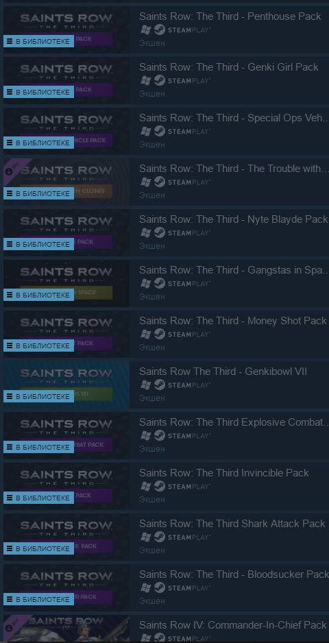 Saints Row Ultimate Franchise Pack (Steam Gift)+Скидки