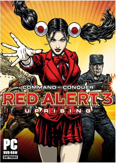 Command & Conquer:Red Alert 3-Uprising (Origin)+Бонус