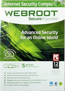 Webroot SecureAnywhere Internet Security Complete 1г/5у