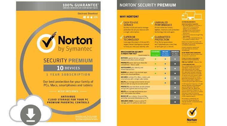 Norton™ Security Premium 1 year 10 devices + Gift