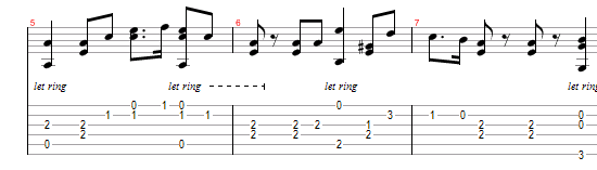 Holy War arrangement for 6-String Guitar