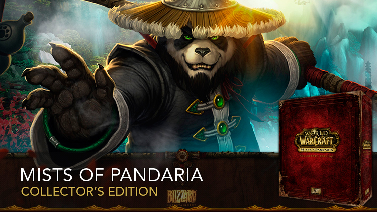 WOW MISTS OF PANDARIA EU COLLECTORS EDITION - FOTO