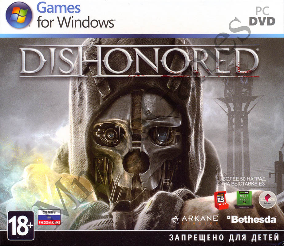 Dishonored (Steam Key) - КЛЮЧ