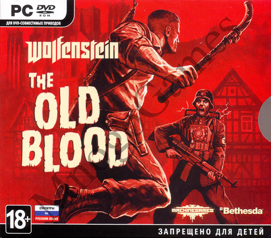 Wolfenstein: The Old Blood (Steam Key) - ФОТО