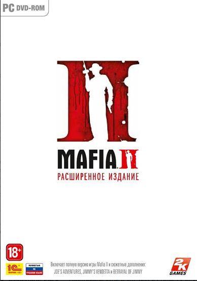 Mafia 2  Mafia II + 3 DLC STEAM KEY (RUS) 2019
