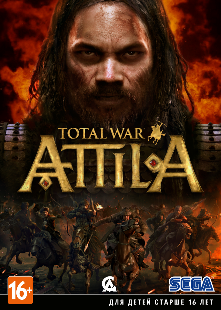 Total War: ATILLA Steam KEY RU/CIS 2019