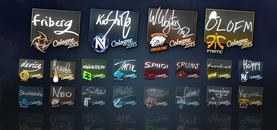 CS:GO - Random sticker in CS: GO - ACTION
