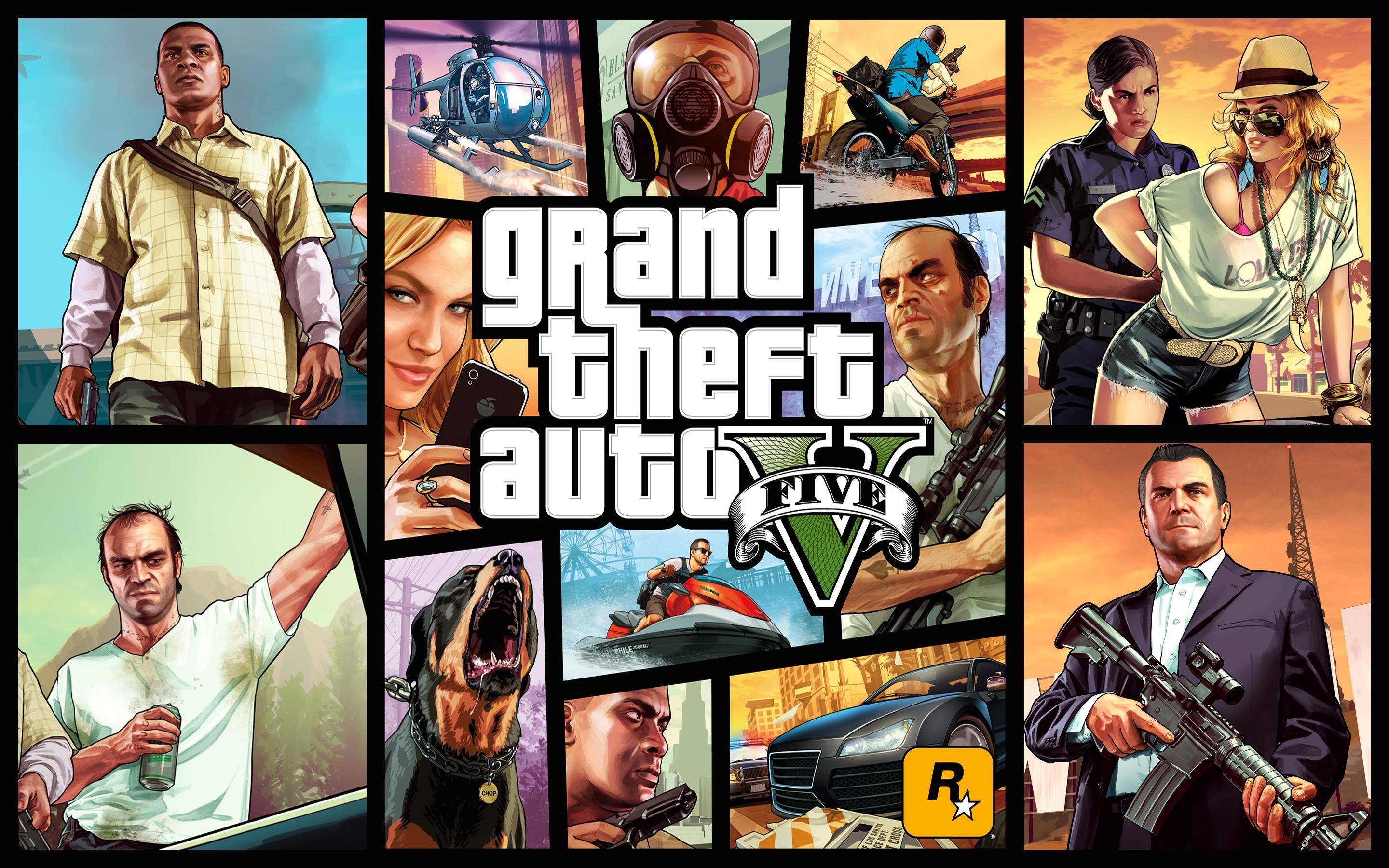 Game official key Grand Theft Auto V 5