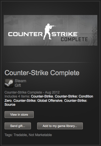 Counter-Strike Complete (Steam Gift /ROW)