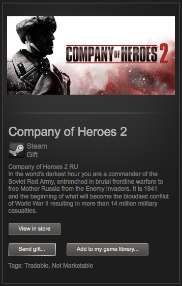 Company of Heroes 2 (Steam Gift / Region Free)+скидка