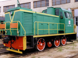 TGM23v circuitry locomotive