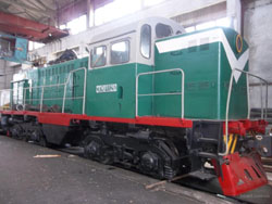 TGM3a circuitry locomotive