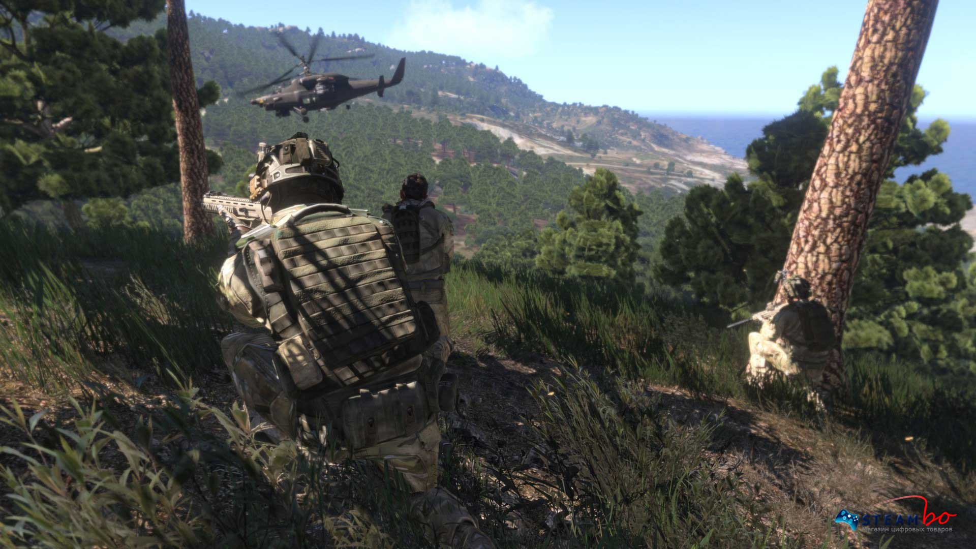 Arma III Scan + gift (Steam Key)
