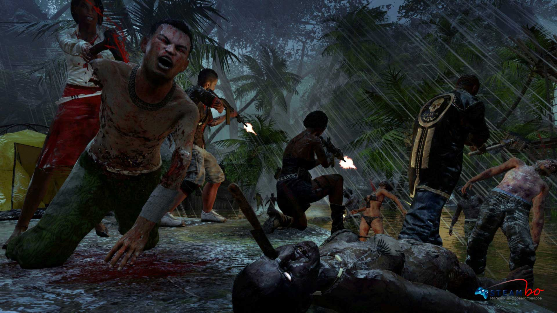 Dead Island Riptide Region Free (Steam Gift / Key)