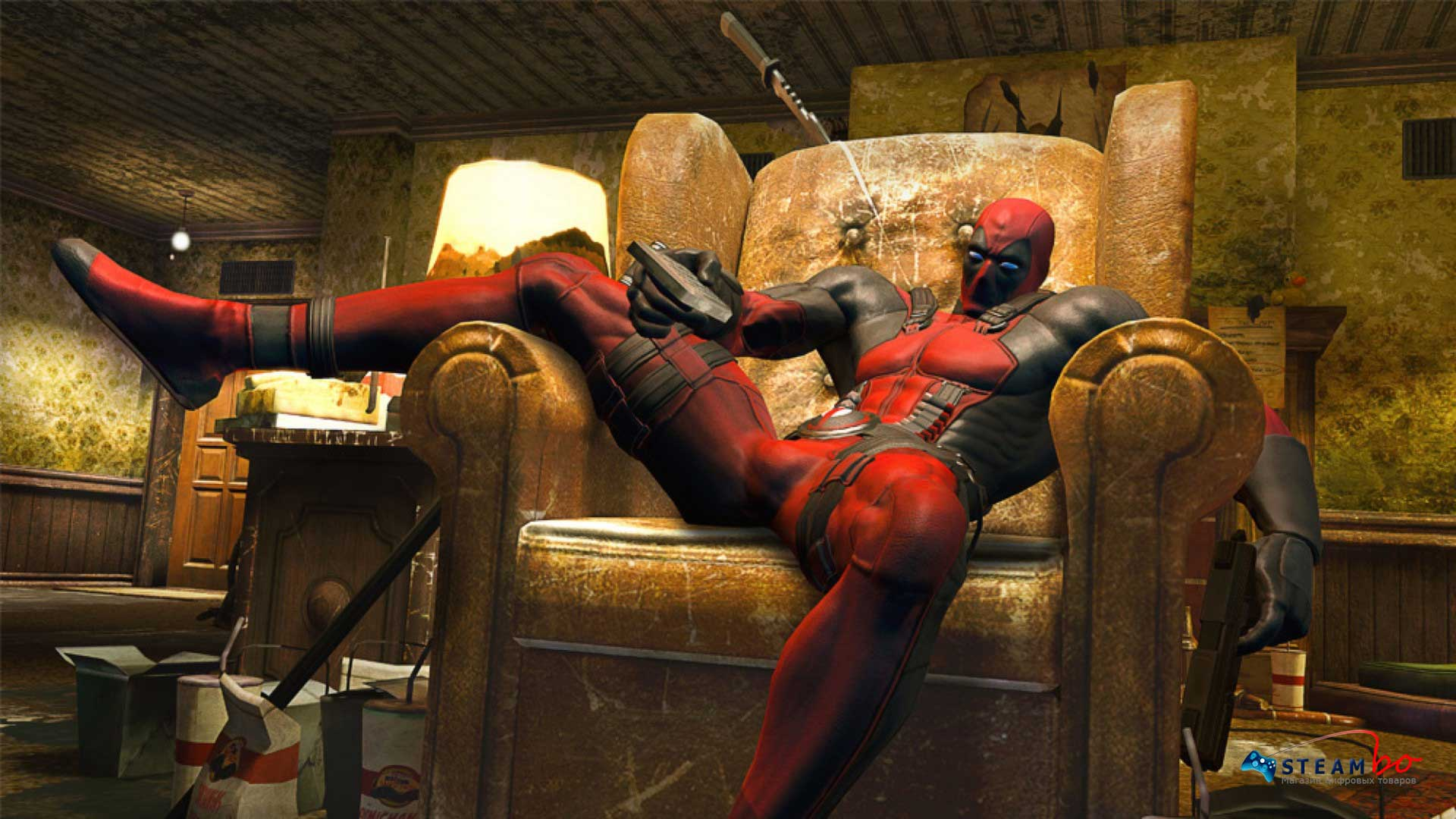 DEADPOOL + подарок  (Steam Key)
