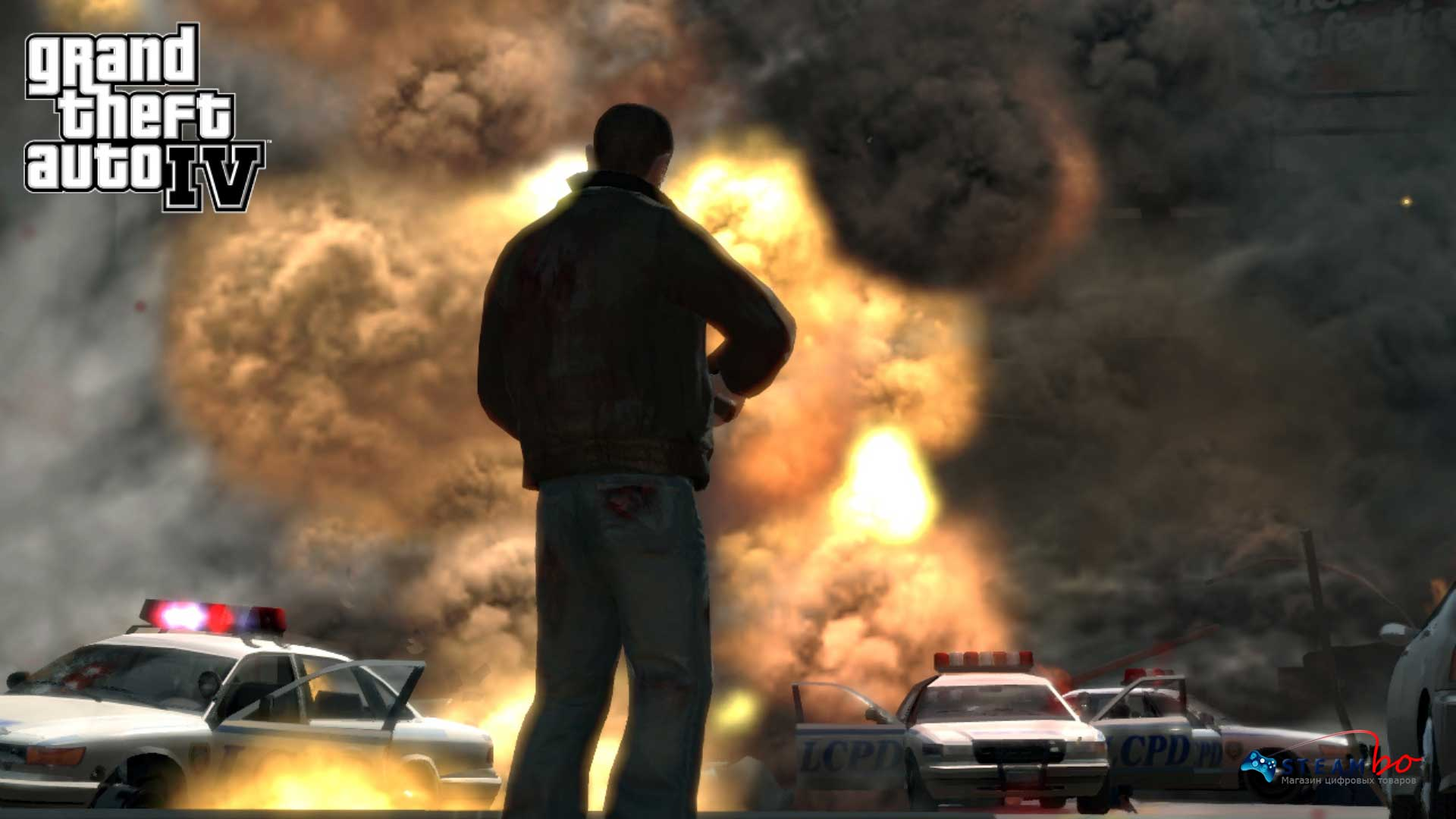 Grand Theft Auto IV + San Andreas (Steam Gift) ROW