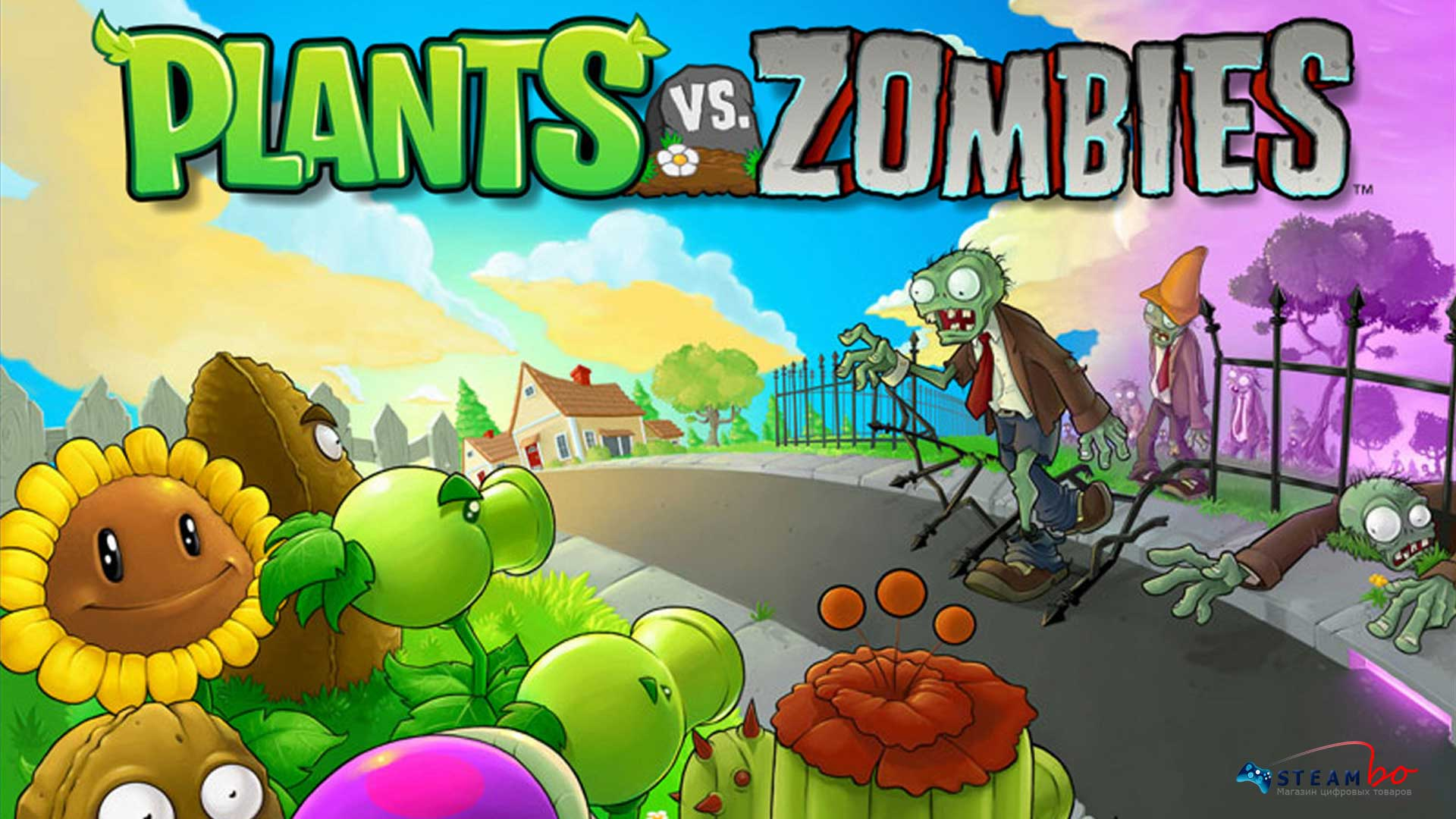 Plants vs. Zombies GOTY Edition ROW (Steam Gift/Key)