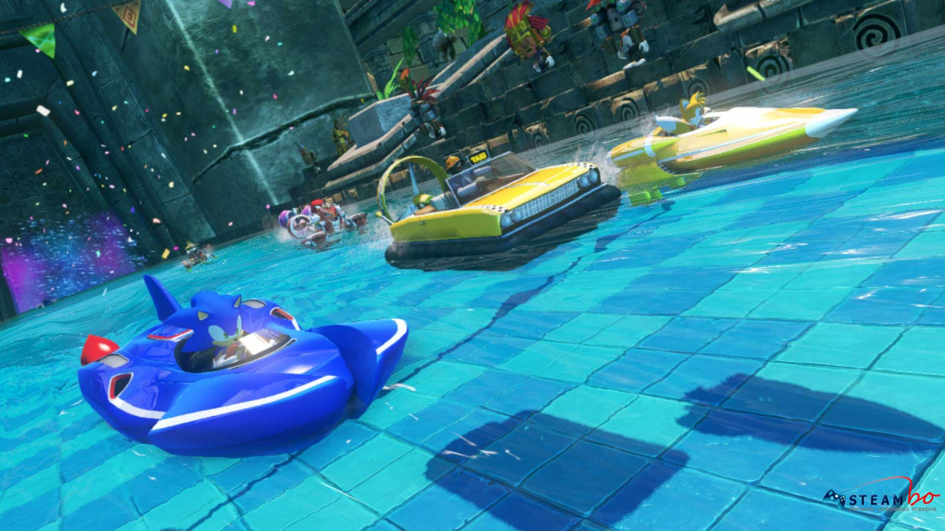 Sonic & All-Stars Racing Transformed ROW (Steam Gift)