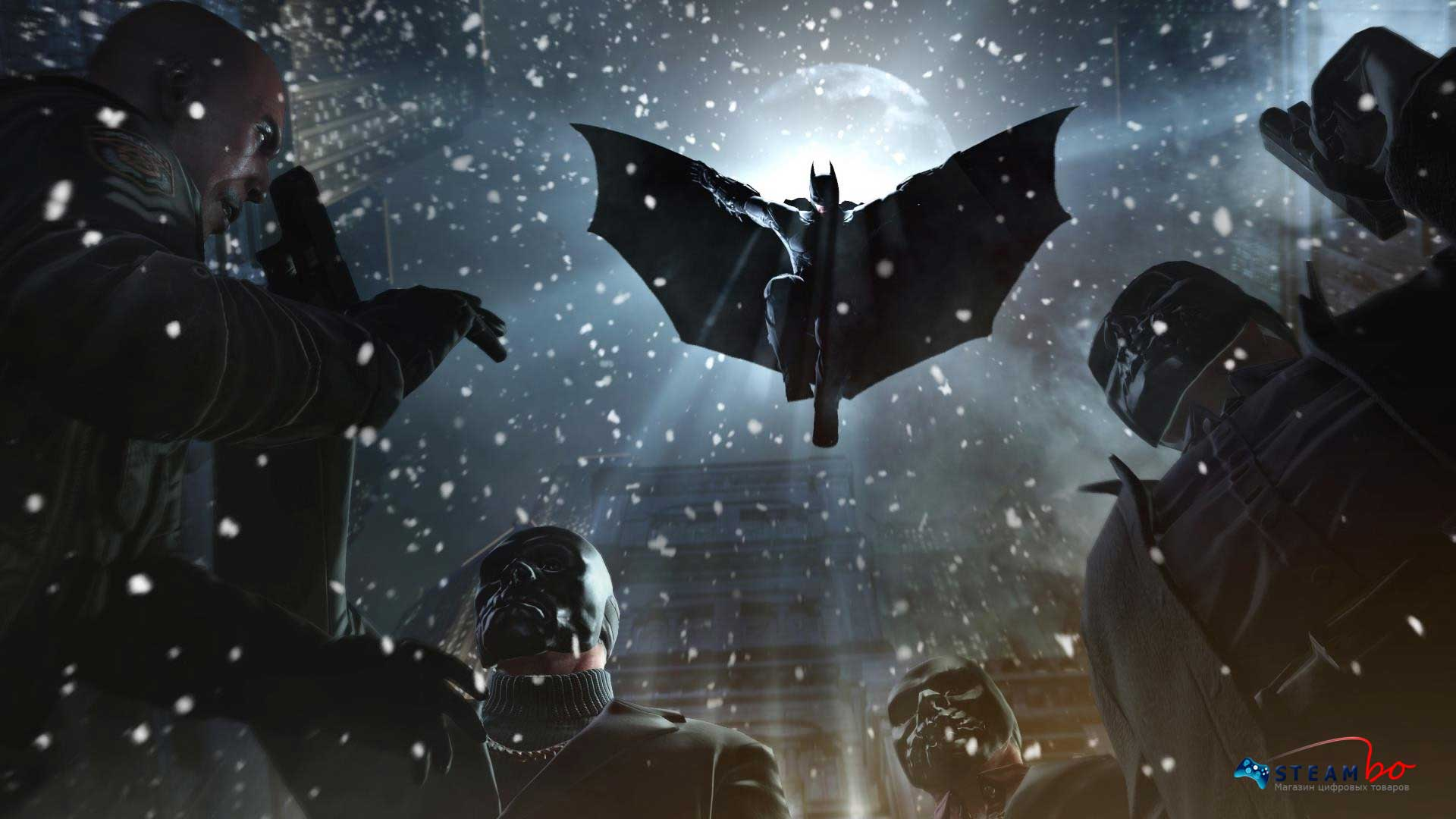 Batman: Arkham Origins RU / CIS (Steam Gift / Key)