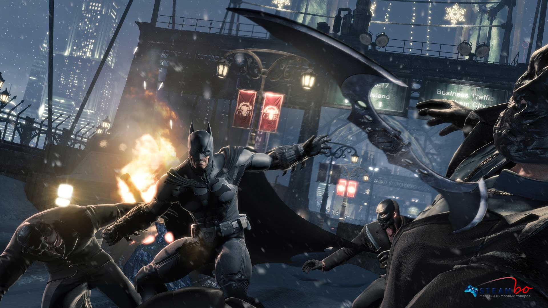 Batman: Arkham Origins RU/CIS (Steam Gift/Key)