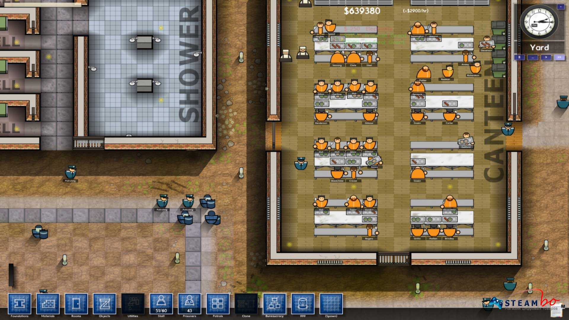 Prison Architect Region Free (Steam Gift / Key)