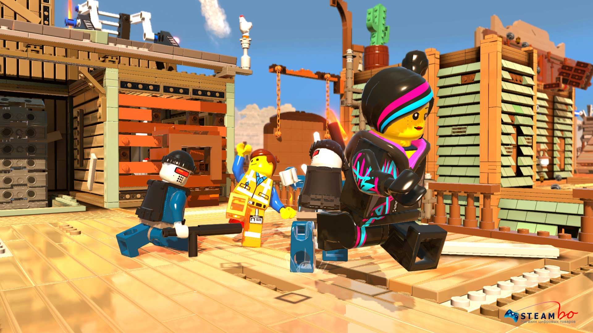 LEGO Movie Videogame Region free (Steam Gift / Key)