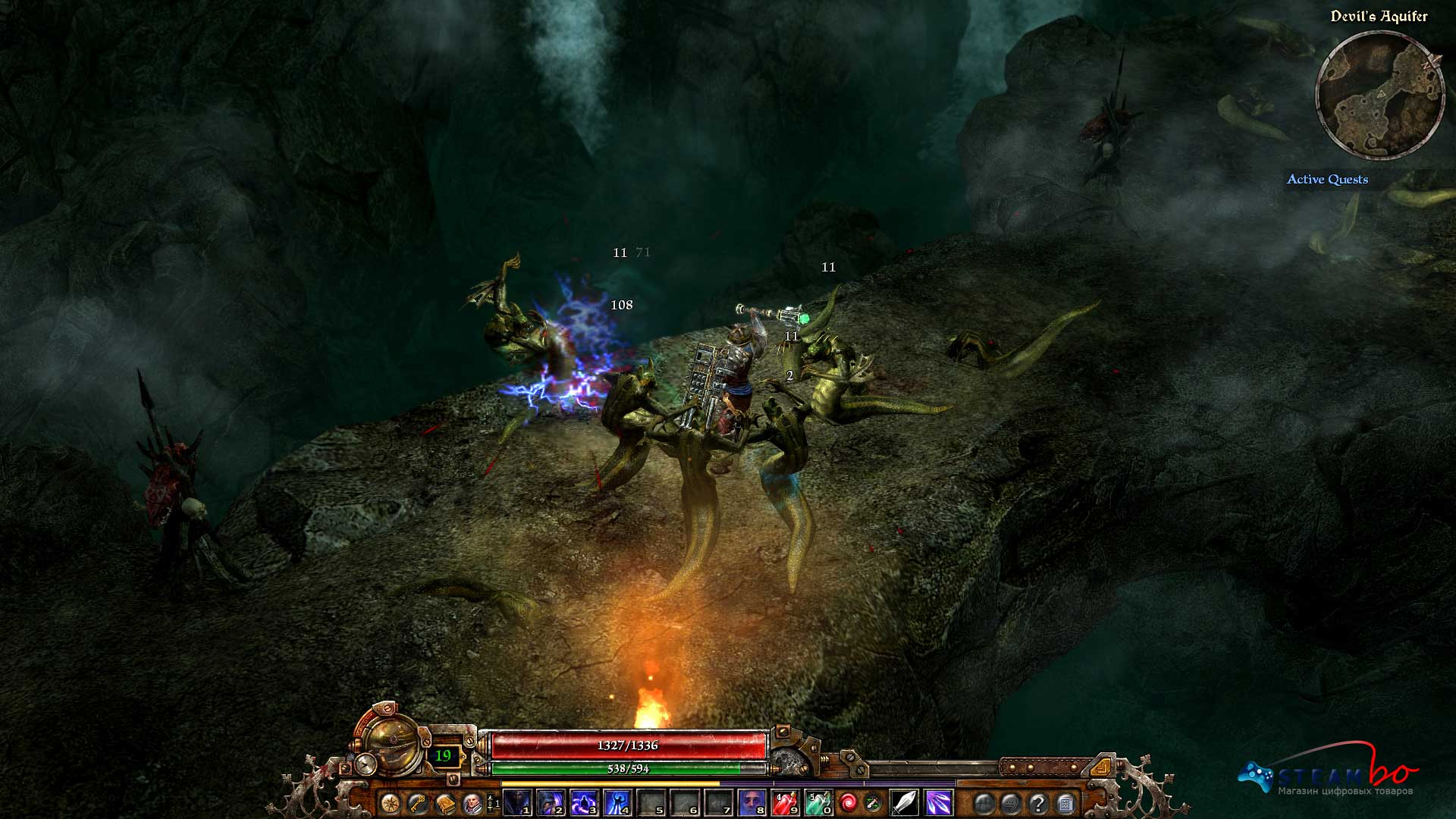 Grim Dawn Region Free (Steam Gift/Key)