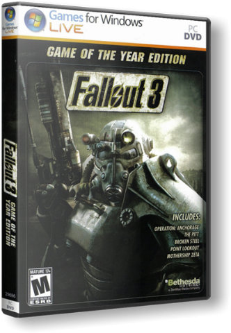 Fallout 3 Game of the Year Ed. (Steam Gift Region Free)
