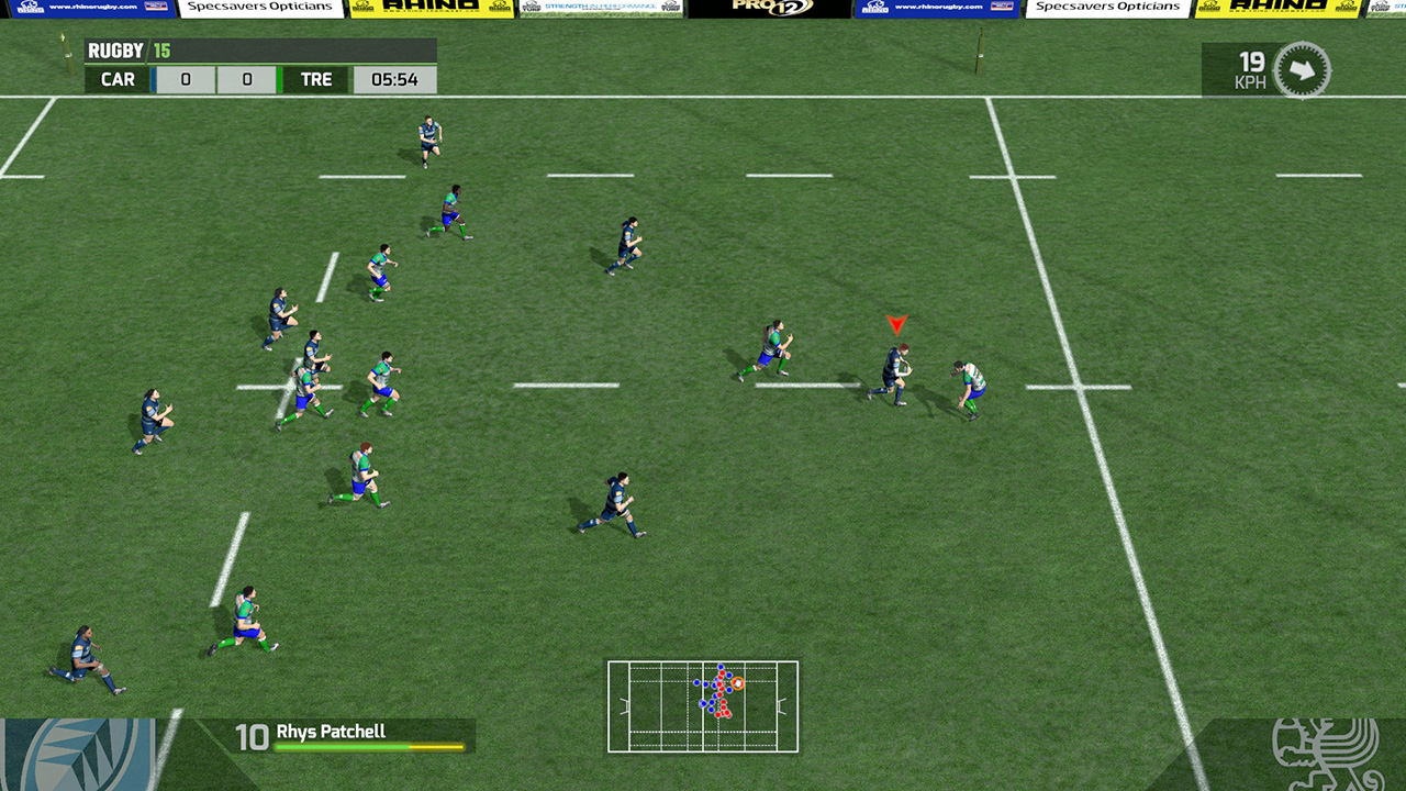 Rugby 15 (Steam Key Region Free / ROW)