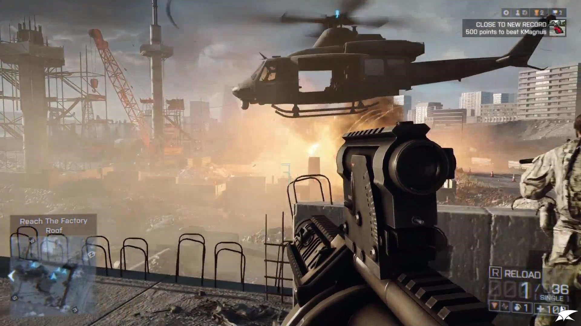 BATTLEFIELD 4 RU/EU/US (Origin Key RegFree / Multilang)
