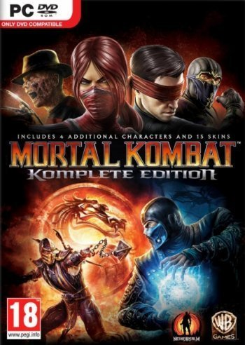 Mortal Kombat Komplete Edition (Steam Region Free /ROW)