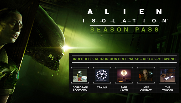 Alien: Isolation - Season Pass (Steam Gift Region Free)