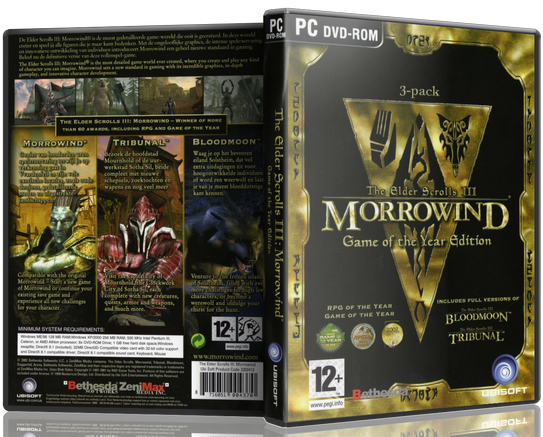 The Elder Scrolls III Morrowind GOTY (Steam Gift RegFre 2019
