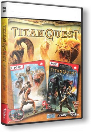 Titan Quest Gold + Anniversary Ed. (Steam Gift RegFree) 2019