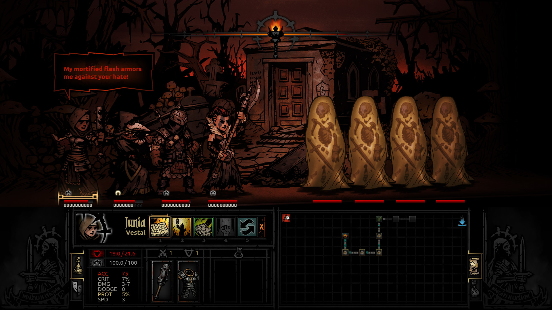 Darkest Dungeon (Steam Gift Region Free / ROW) 2019