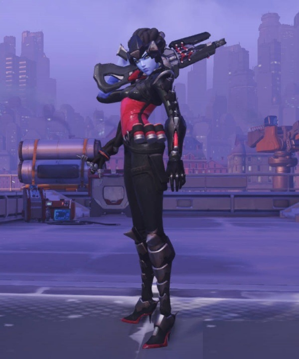 skin BLACK WIDOW Widowmaker Overwatch xbox + gifts!
