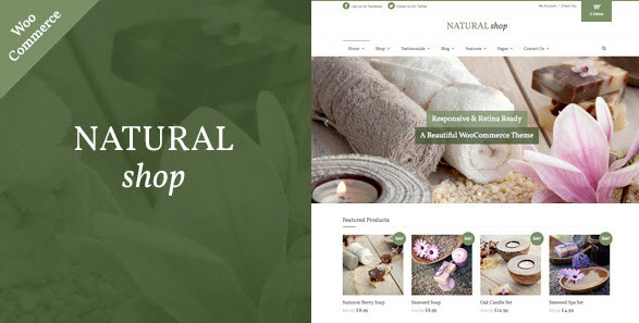 Natural Shop - russian localization
