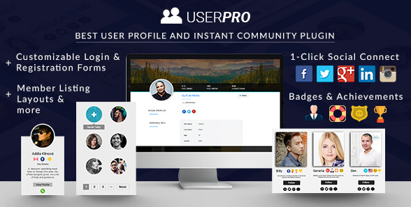 UserPro - Community and User Profile - русификация