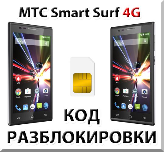 MTS Smart Surf 4G. Network Unlock Code (NCK).