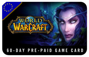 World of Warcraft® Time Card 60 days EURO (Scan)