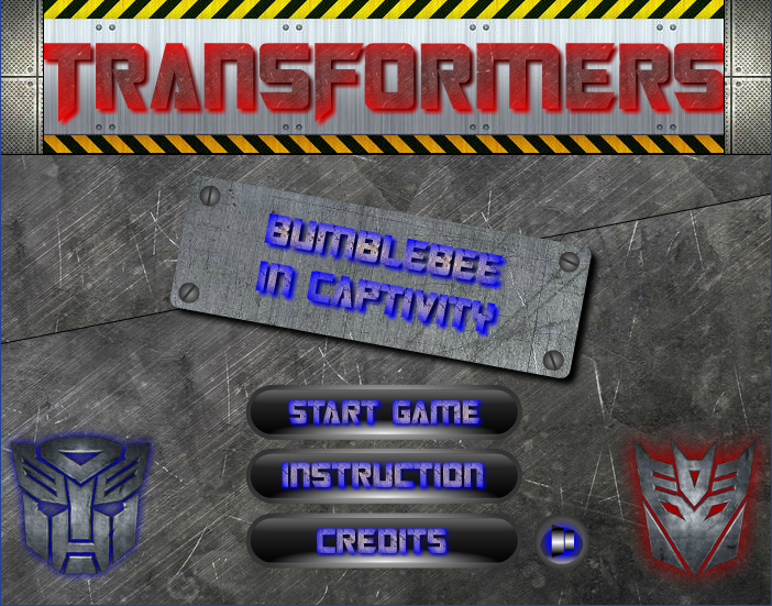 The source flash game Transformers.