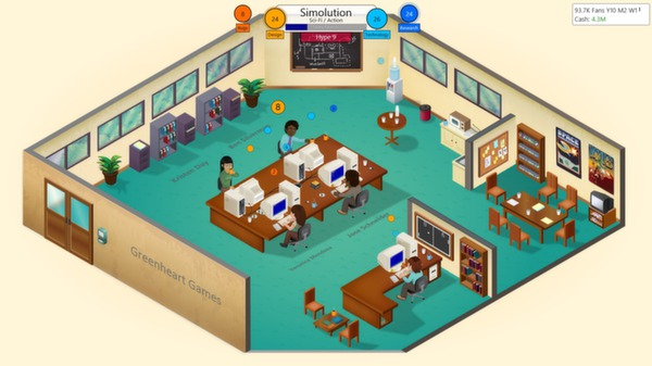 Game Dev Tycoon (Steam Gift / Region RU+CIS)
