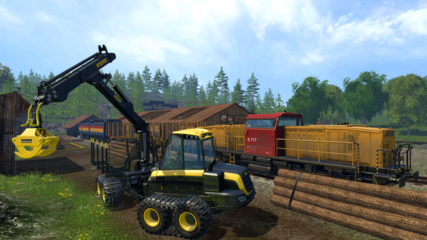 Farming Simulator 15 (Steam Gift / Region RU+CIS)