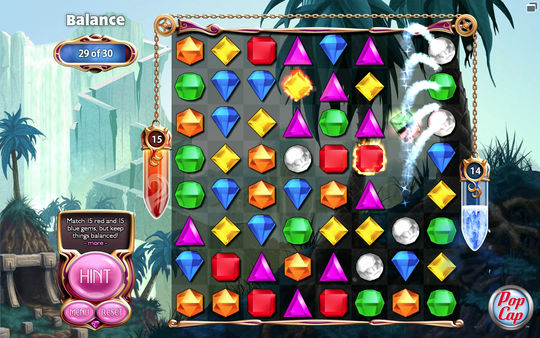 Bejeweled 3 (Steam key) Region Free