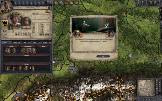 Crusader Kings II + DLC (Steam key / Region Free)