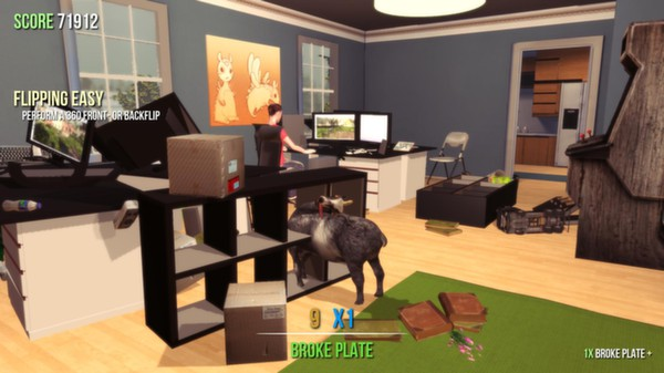 Goat Simulator (Steam Gift/ Region Free / RoW)